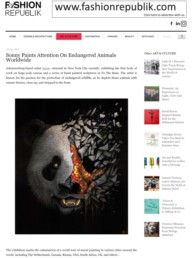 Fashion Republik article about Sonny's To The Bone project