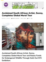 Good Things Guy blog on Sonny's Global Mural Tour