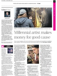 IOL | The Mercury Newspaper article about Sonny's To The Bone Project